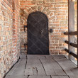 Stock Photo: Old ferrous door