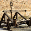 Ancient catapult — Stock Photo
