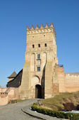 Old castle in town Lutsk — Stock Photo