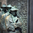 Stock Photo: FDR Memorial Great Depression statue