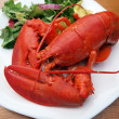 Stock Photo: Lobster meal 4