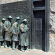 Stock Photo: FDR Memorial Great Depression statue3