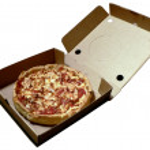 Pizza in open box 2008 — Stock Photo #2267464