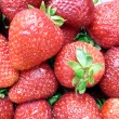 strawberries closeup 3 — Stock Photo
