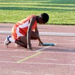 Stock Photo: Track runner 2