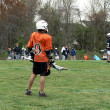 Lacrosse - little league game — Stock Photo