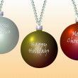 Stock Photo: Christmas bulbs2