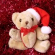 Christmas bear - Stock Photo