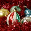 Christmas - antique bulbs 2 - Stock Photo
