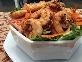 Shrimp salad 3 — Stock Photo