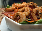Shrimp salad 2 — Stock Photo