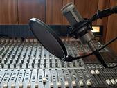 Studio vocal microphone — Stock Photo