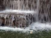 Waterfall fountain — Stock Photo
