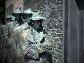 FDR Memorial Great Depression statue — Stock Photo