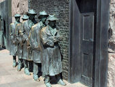 FDR Memorial Great Depression statue2 — Stock Photo