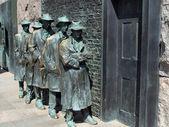 FDR Memorial Great Depression statue2 — Stock Photo
