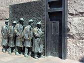 FDR Memorial Great Depression statue3 — Stock Photo