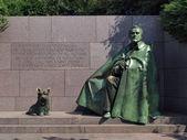 FDR Memorial statue — Stock Photo