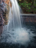 FDR Memorial waterfall — Stock Photo