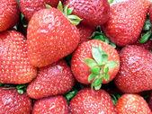 Strawberries closeup 3 — Stock Photo
