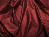 Satin sheet wine color — Stock Photo