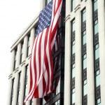 Us flag - 9-11 memorial tribute 2 — Stock Photo #2385781