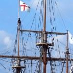 Photo of the main mast of a longship — Stock Photo #2386049