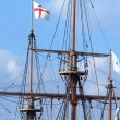Main mast of a longship — Stock Photo