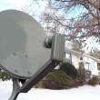 Satellite tv dish — Stock Photo