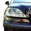 Vehicles headlight — Stock Photo