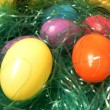 Easter eggs close up - Stock Photo