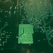 Circuit board background 2 - Foto Stock