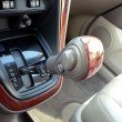 Automobile gear shift - Stock Photo