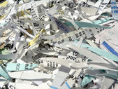 Shredded paper 2 — Stock Photo