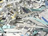 Shredded paper 2 — Stock Photo