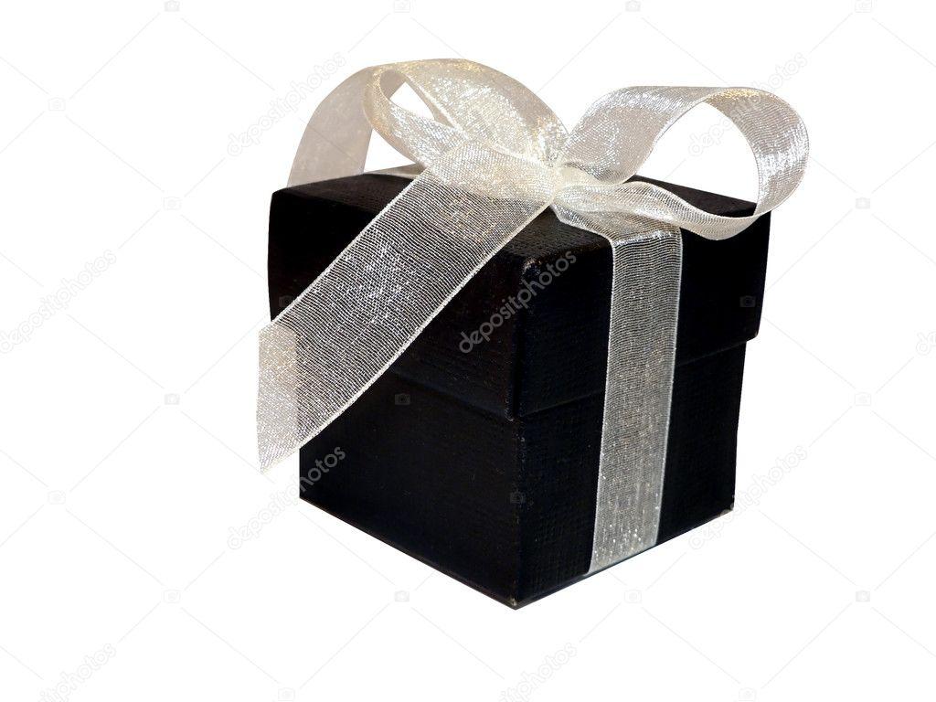 Wedding Gift Deposit Box : Black gift boxStock Photo ? tdoes1 #2387371