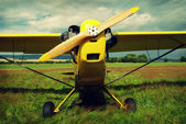 Vintage plane — Stock Photo
