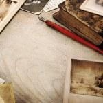 Vintage memory background — Stock Photo