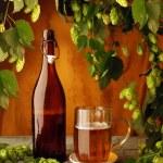 bière Vintage nature morte — Photo