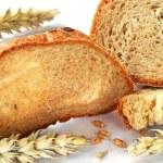 Bread and grain — Stock Photo #2448980