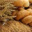 Grain, buns and rolls — Stock Photo