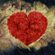 Stock Photo: Grunge heart