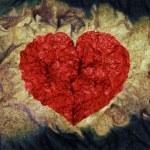 Grunge heart — Stock Photo #2462575
