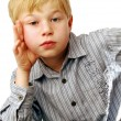 Royalty-Free Stock Photo: Blond boy