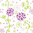 Stock Vector: Floral pattern