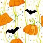 Pattern Halloween — Cтоковый вектор