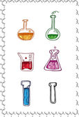 Chemistry symbols set — Stock Vector