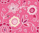 Valentine's Day pattern — Stock Vector