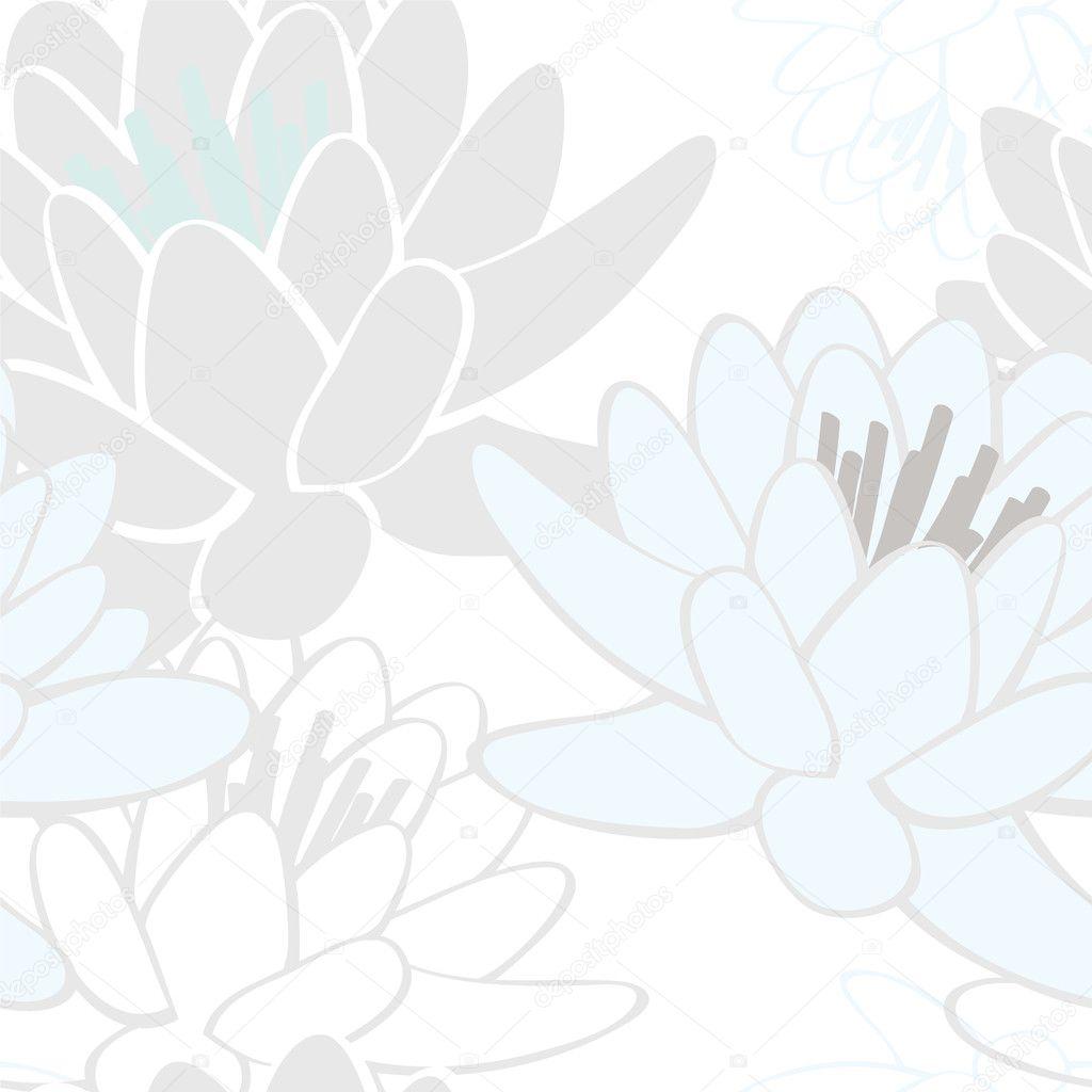 东南亚莲花纹样