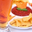 Royalty-Free Stock Photo: Mexican food and beer